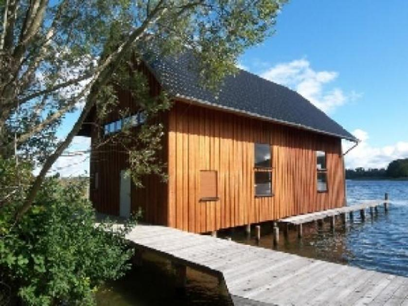 Schwerin Traumhaftes Bootshaus Neubau 8 X 16 Meter Wie